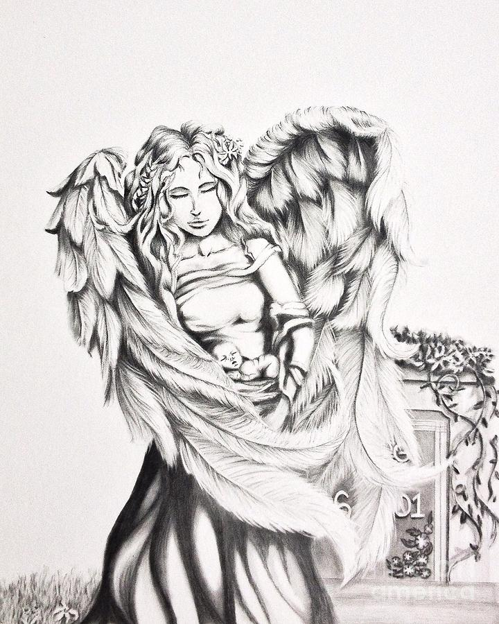 Back To Shayla Tansey Art Drawings Angel