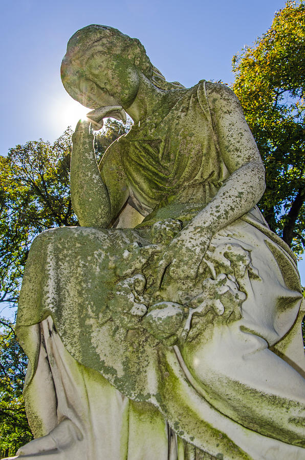 Statue Photograph - Guardians Of The Departed 3  by Susan McMenamin