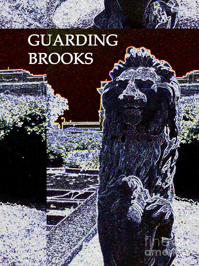 Guarding Brooks Digital Art by Karen Francis