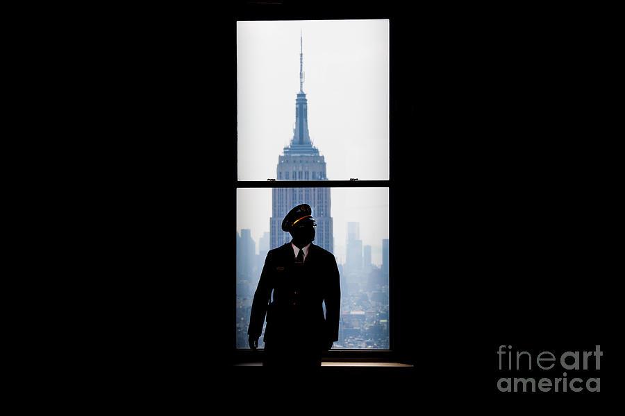Empire State Building Photograph - Guarding The Empire by Az Jackson