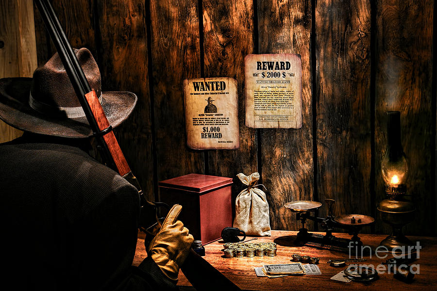 Western Photograph - Guarding The Payroll by Olivier Le Queinec