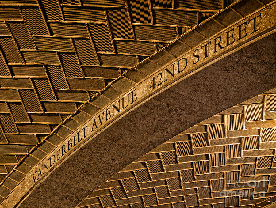 Guastavino Tile Ceiling Photograph by Jerry Fornarotto