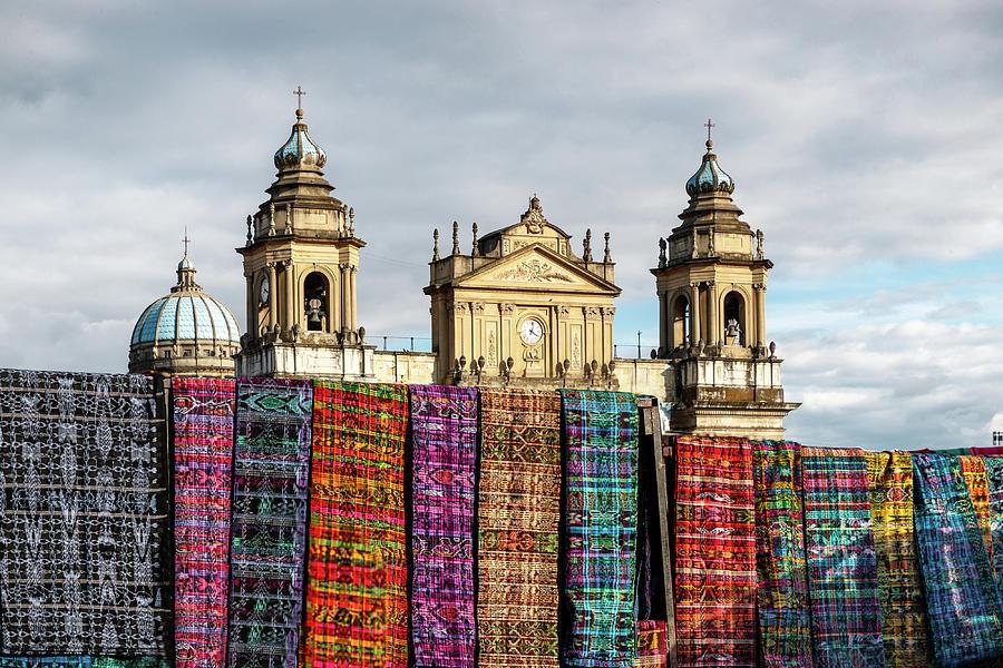 Church Photograph - Guatemala City Cathedral by Francisco Mendoza Ruiz