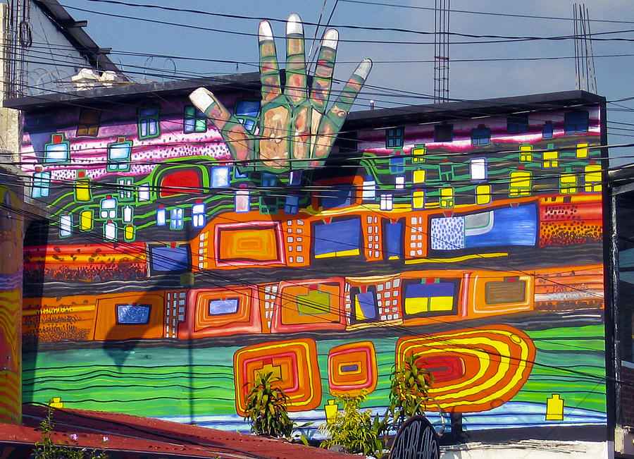 Painting Photograph - Guatemala Street Art 1 by Kurt Van Wagner