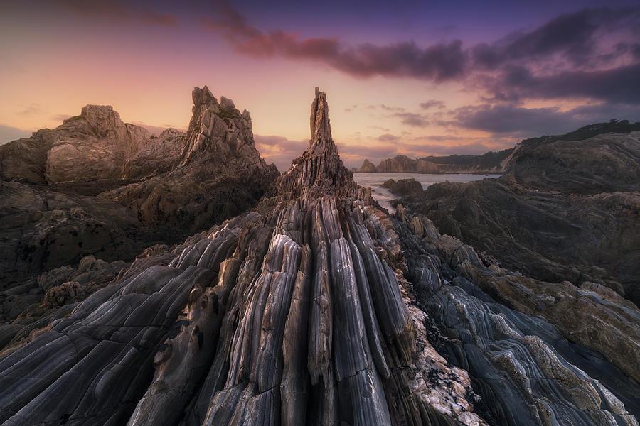 Gueirua Needles Photograph by Carlos F. Turienzo