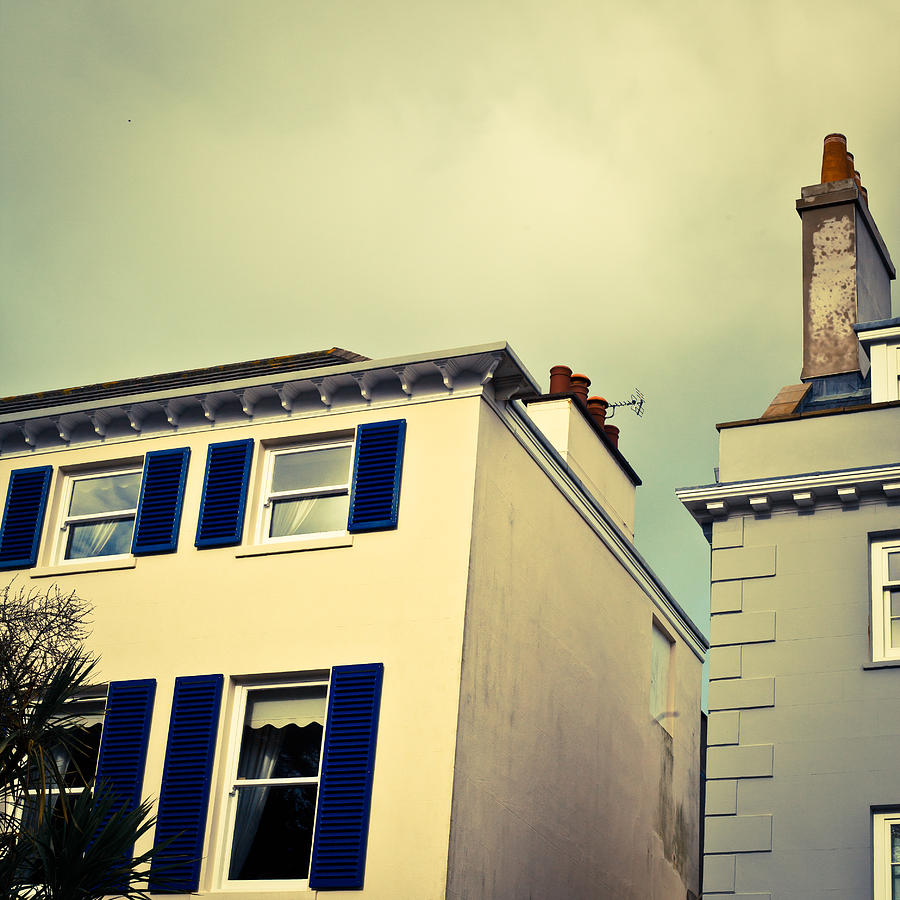 Apartment Photograph - Guernsey Houses by Tom Gowanlock