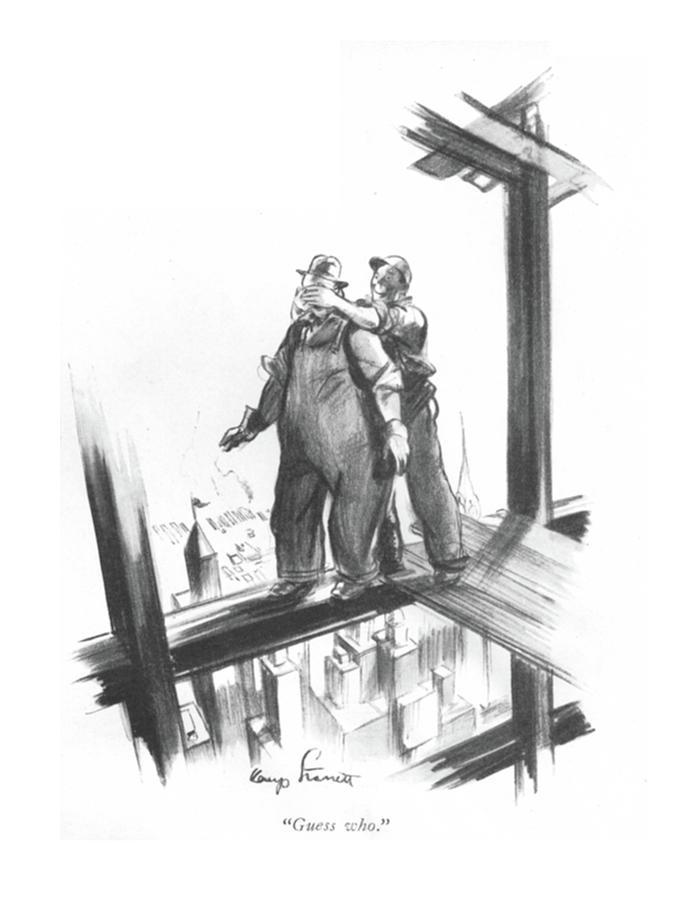 Guess Who Drawing by Kemp Starrett