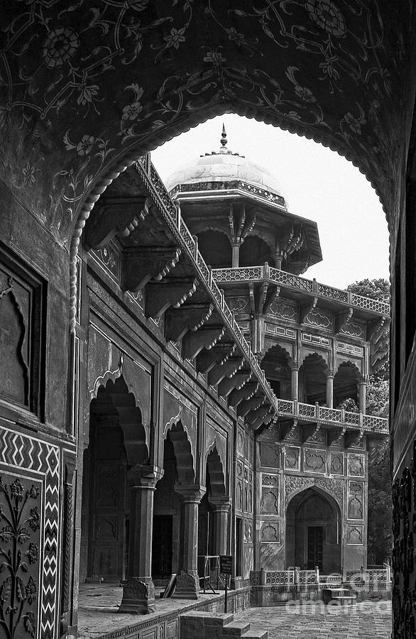 Guest House at the Taj Mahal by James L Davidson
