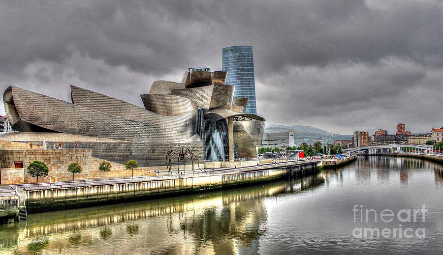 Guggenheim Museum Bilbao - Spain Photograph - Guggenheim Museum Bilbao  by Ines Bolasini