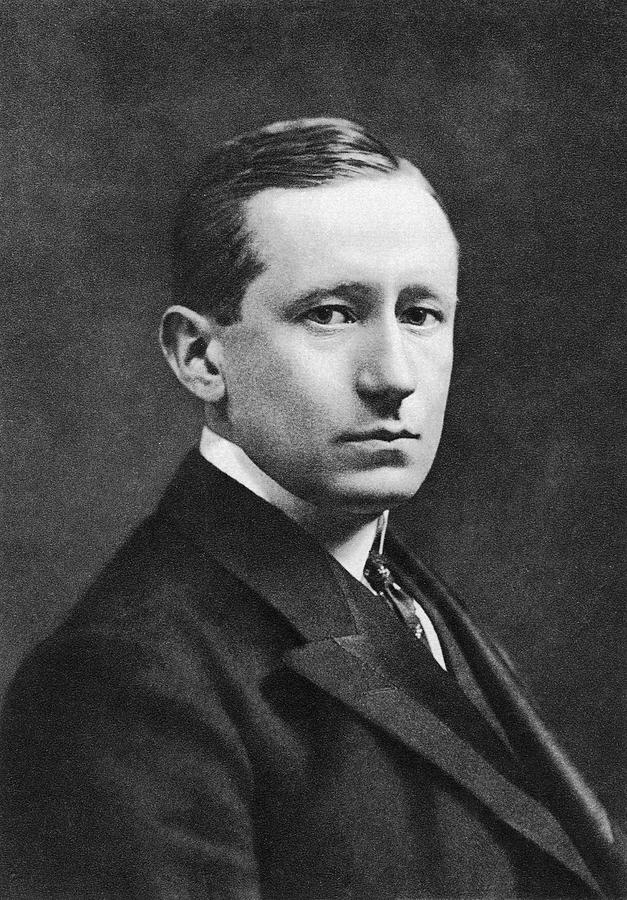 Guglielmo Marconi Photograph - Guglielmo Marconi by Miriam And Ira D. Wallach Division Of Art, Prints And Photographs/new York Public Library