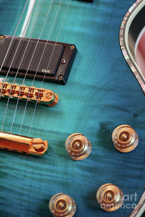 Guitar Photograph - Guitar Blues by Joy Watson