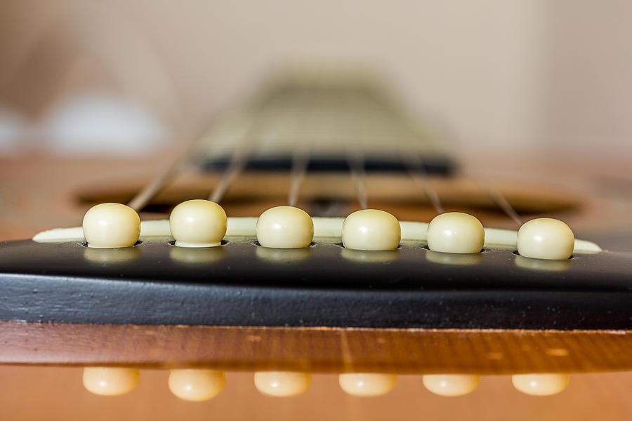 Guitar Photograph - Guitar. by Gary Gillette