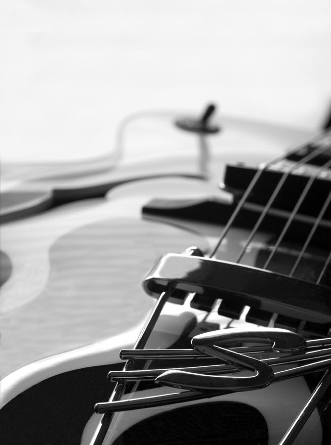 Guitar Photograph - Guitar by Jessica Wakefield