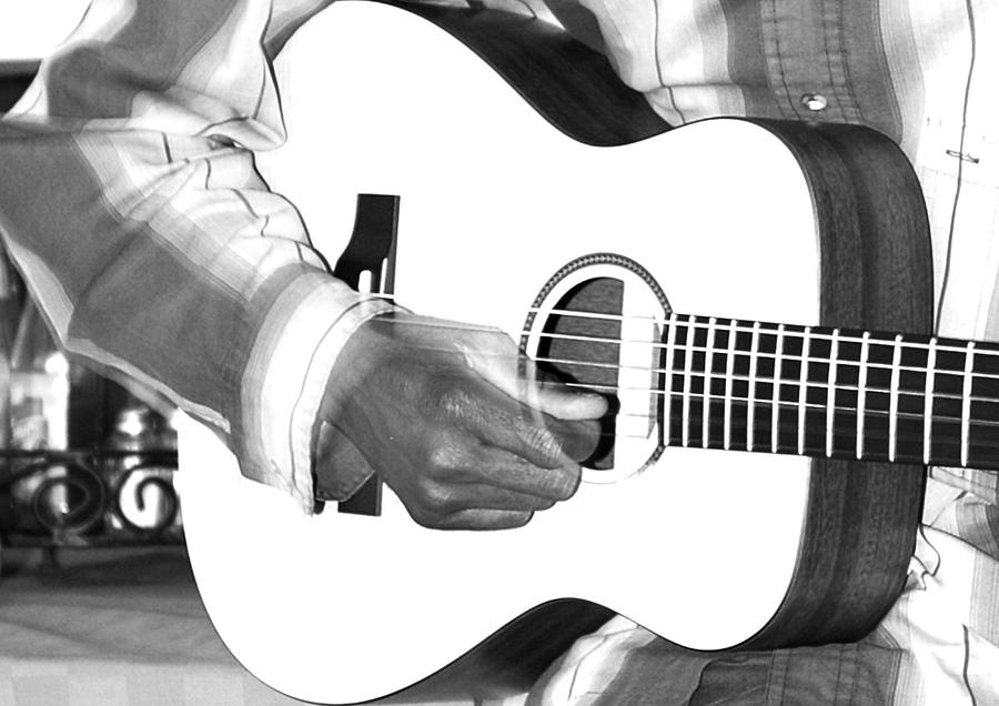 East Africa Photograph - Guitar Player by Aidan Moran