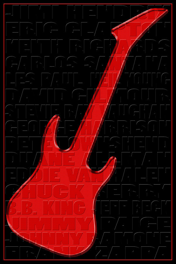 Guitar Photograph - Guitar Players 1 by Andrew Fare