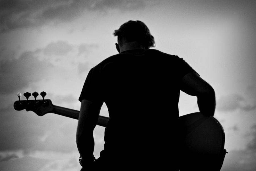 Guitarist - Funktography By Nerisha Ray Singh Photograph by Nerisha Ray Singh