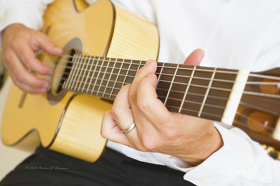 Guitarist by Richard J Thompson