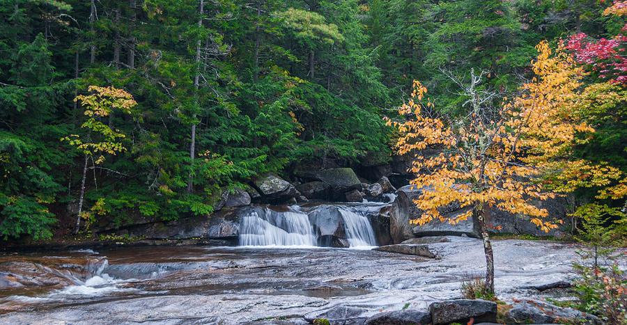 Rivers Photograph - Gulf Hagas Brook by Guy Whiteley
