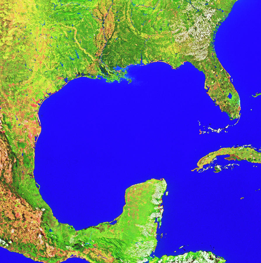 what created the gulf of mexico