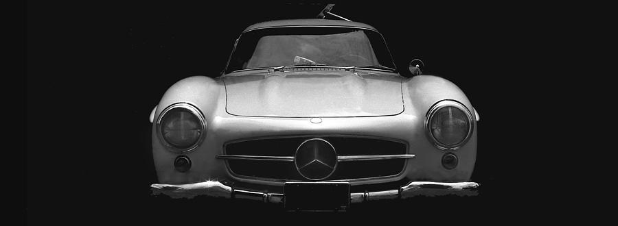 Mercedes Photograph - Gullwing Mercedes by Michael Moore