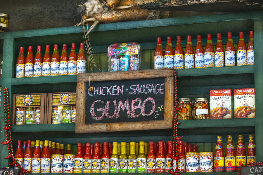 French Market Photograph - Gumbo by Brenda Bryant