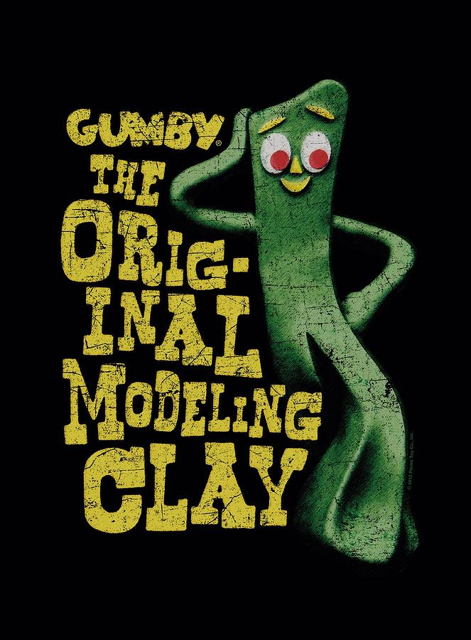 Gumby Digital Art - Gumby - So Punny by Brand A