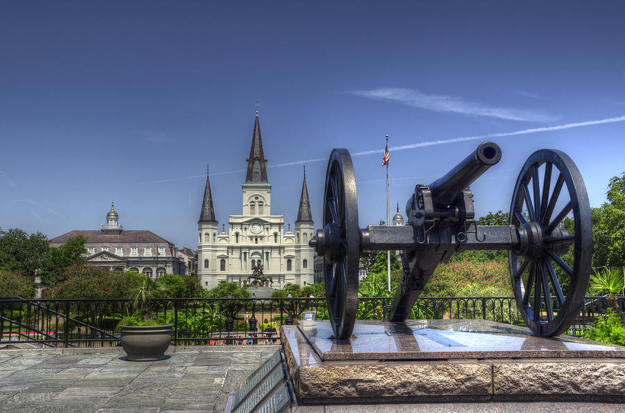 New Orleans Photograph - Gun General And God by Greg and Chrystal Mimbs