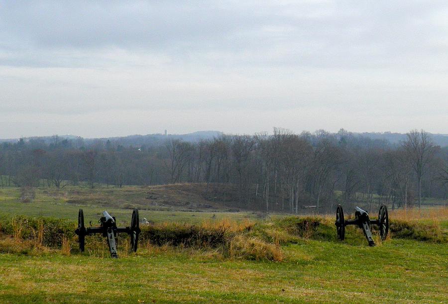 Gettysburg Photograph - Guns Of Gettyburg by Feva  Fotos