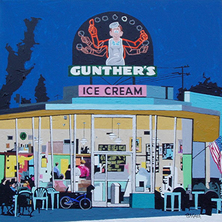 Sacramento Painting - Gunthers Number 4 by Paul Guyer