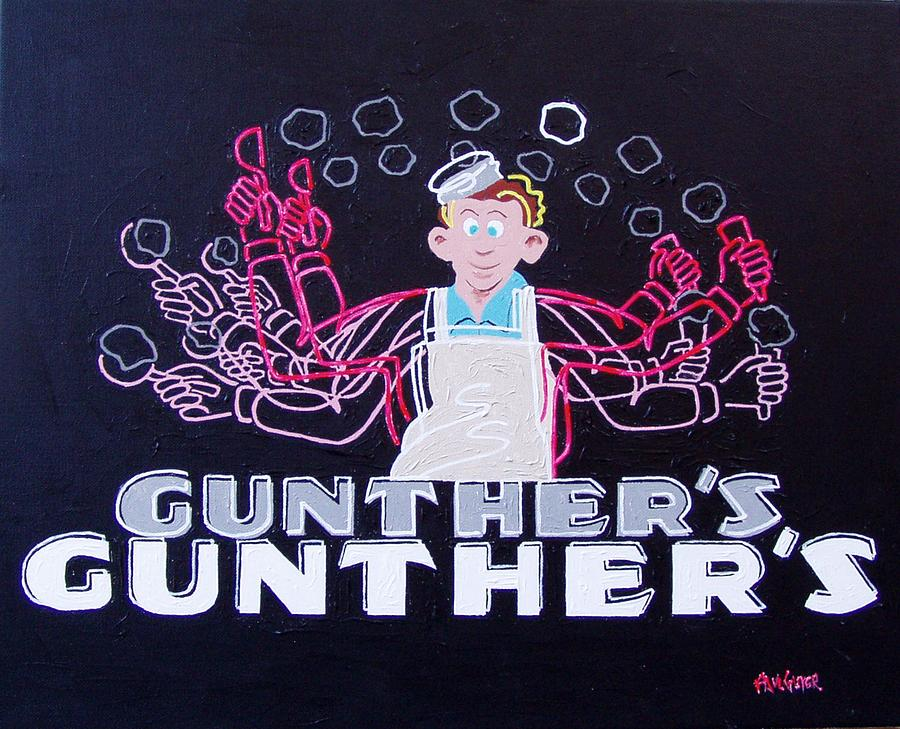 Sacramento Painting - Gunthers Number 5 by Paul Guyer