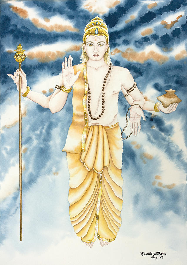 Vedic Astrology Painting - Guru Jupiter by Srishti Wilhelm