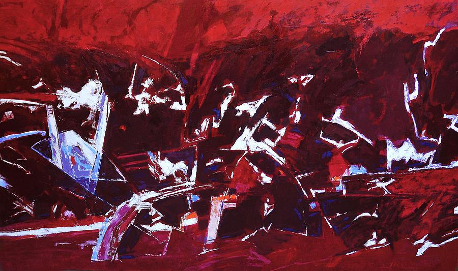 Landscape Painting - Gustav Mahler Symphoni No.5 by Vladimir Vlahovic
