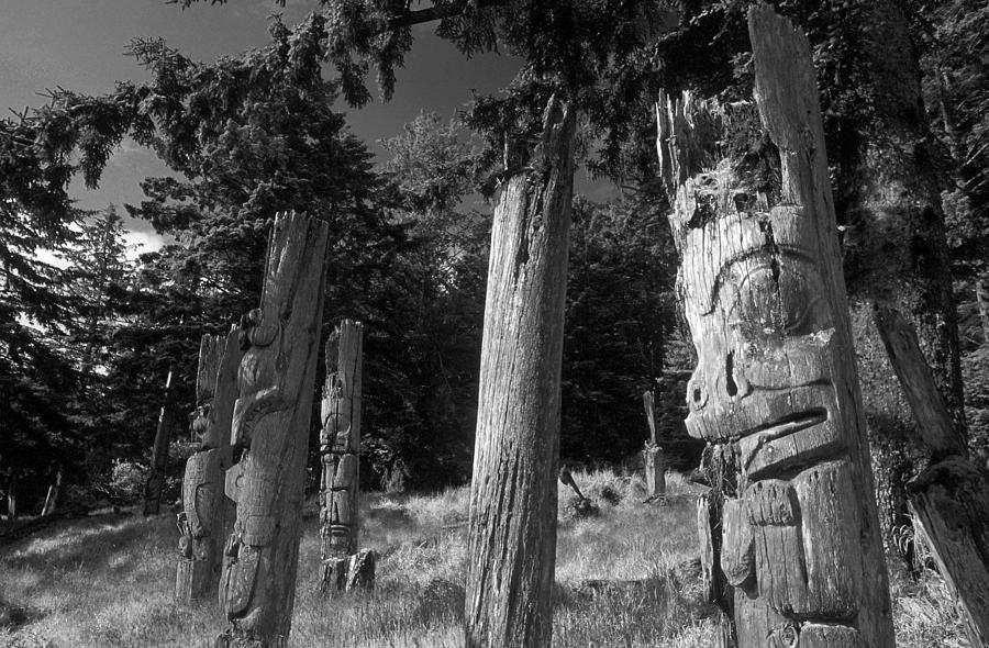 Haida Photograph - Gwai Hanaas by Christian Heeb