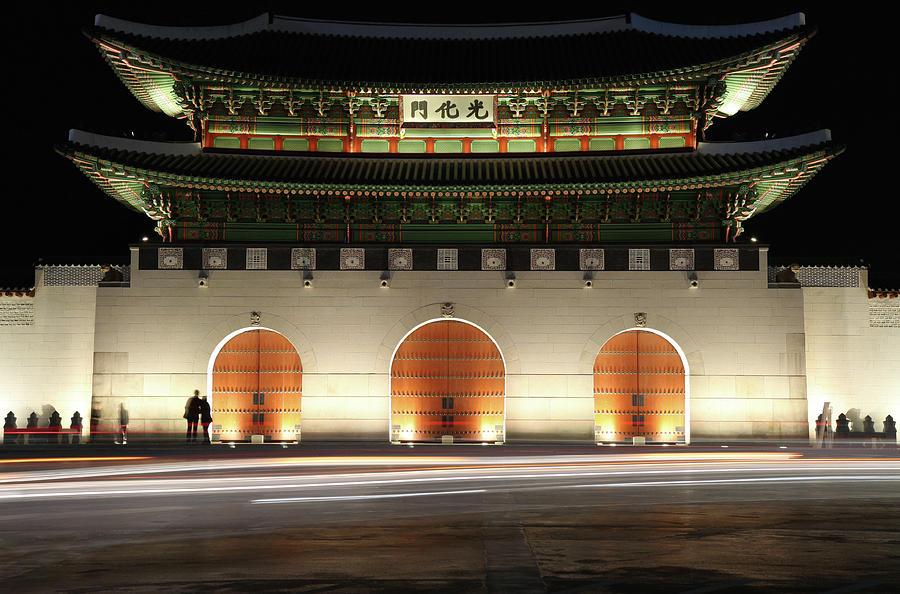 Gwanghwamun Gate Seoul South Korea Photograph by Matteusus
