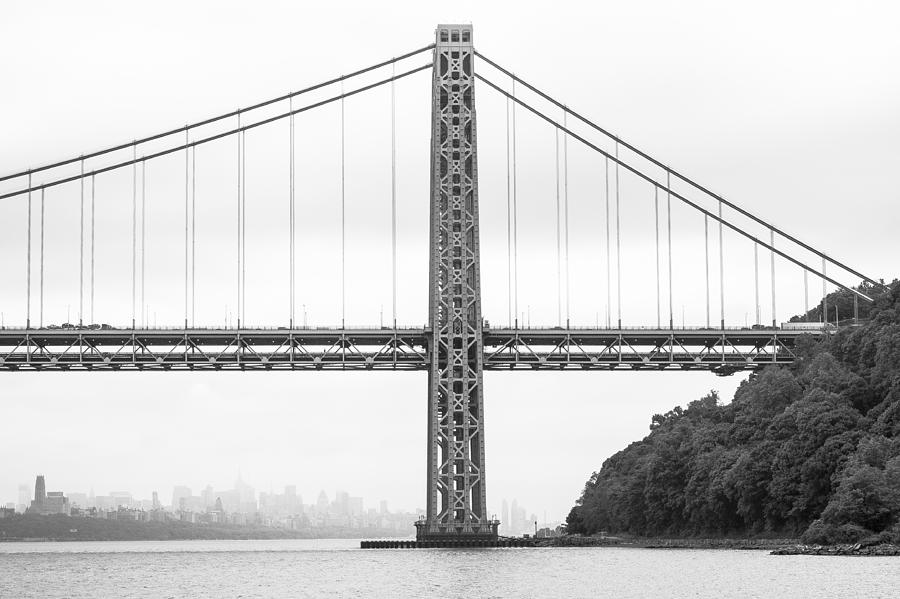 Gwb And Framing Manhattan Photograph by Chris Halford