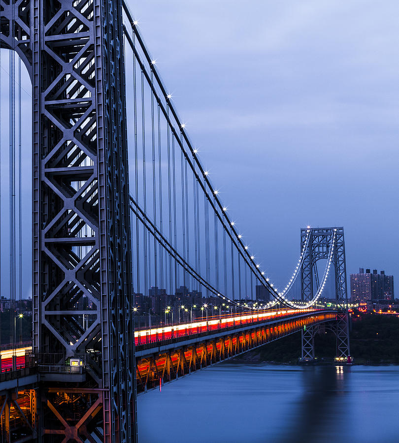 Gwb Photograph - Gwb From Fort Lee by Chris Halford