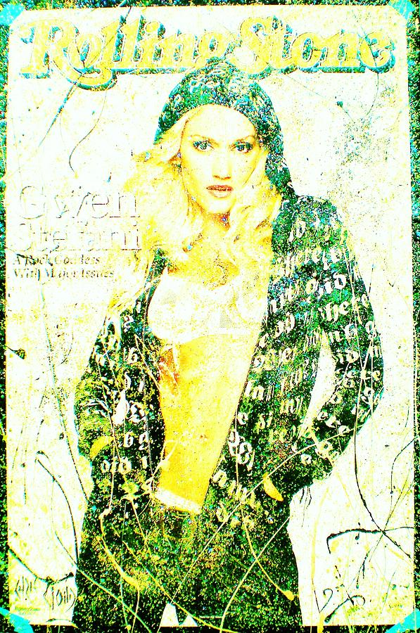 Gwen Stefani Painting - Gwen by Chris Cloud