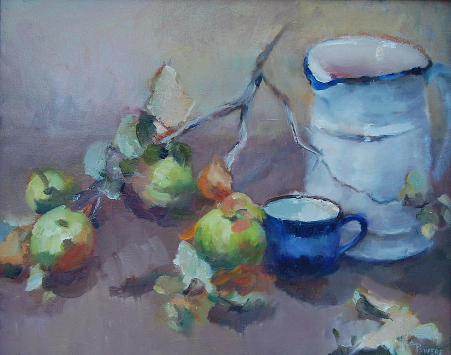 Gwens Pitcher Painting by Ann Powers