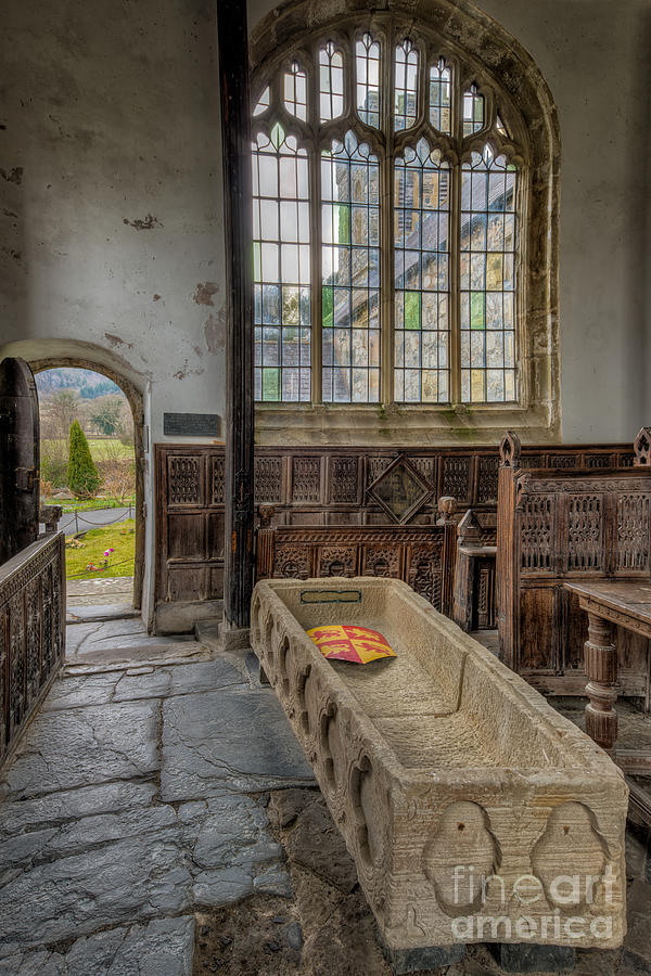 13th Century Photograph - Gwydir Chapel by Adrian Evans