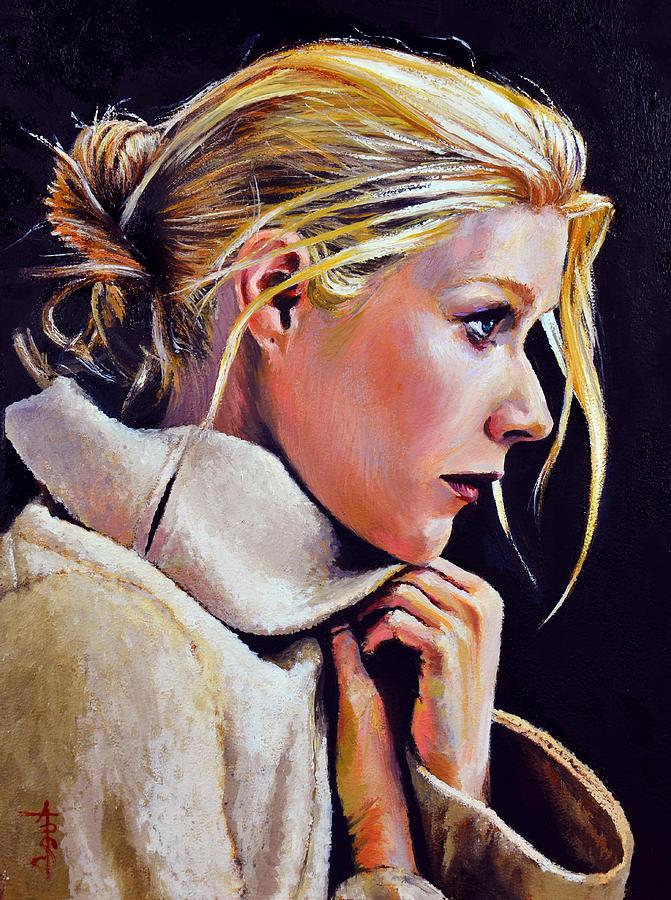 Gwyneth Painting - Gwyneth by Anthony Sell