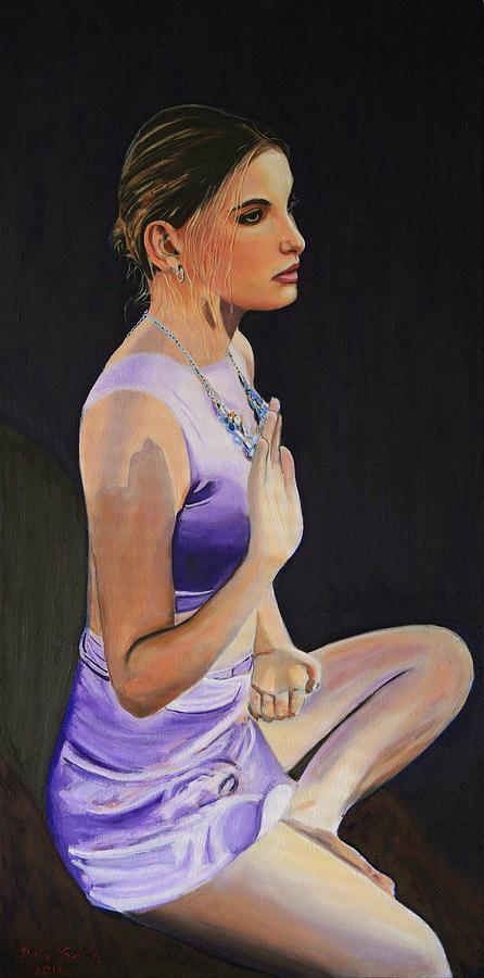 Woman Painting - Gypsy Bodhisattva by Jean-Paul Setlak