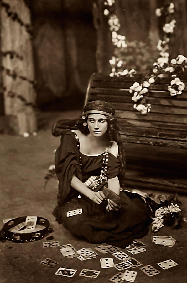 Gypsy Photograph - Gypsy by Bill Cannon