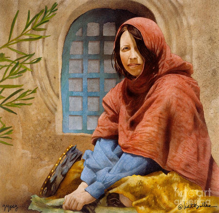 Will Bullas Painting - Gypsy... by Will Bullas