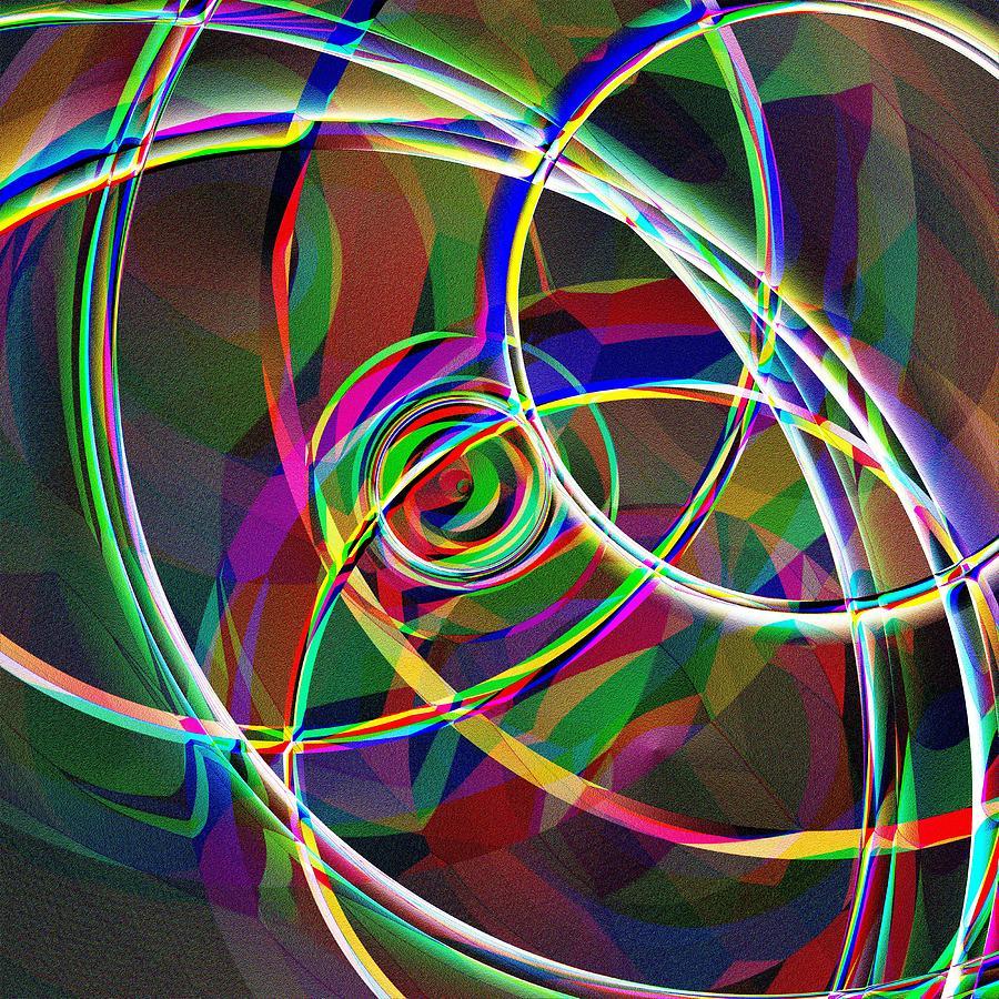 Gyroscope Digital Art - Gyroscope by Krazee Kustom