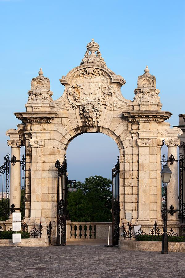 Budapest Photograph - Habsburg Gate In Budapest by Artur Bogacki