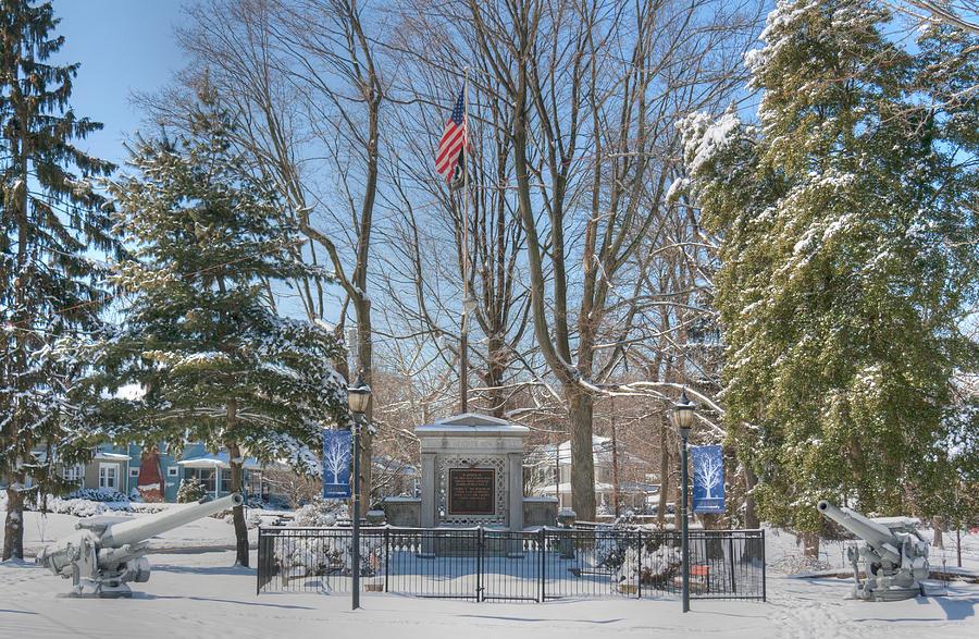 Haddon Heights War Memorial by John A Megaw