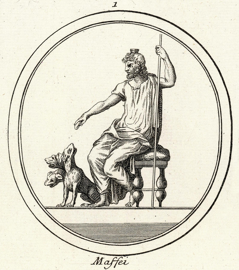 Hades Known To The Romans As Dis Or Drawing By Mary Evans