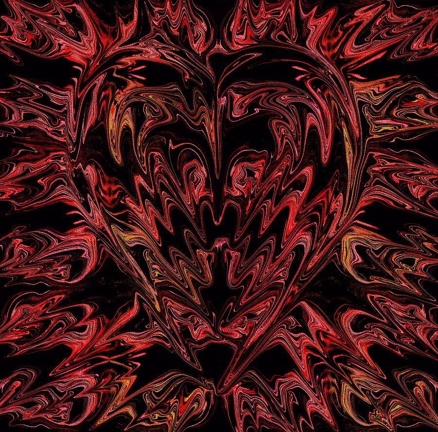 Heart Photograph - Haemorrhage  by Anthony Bean