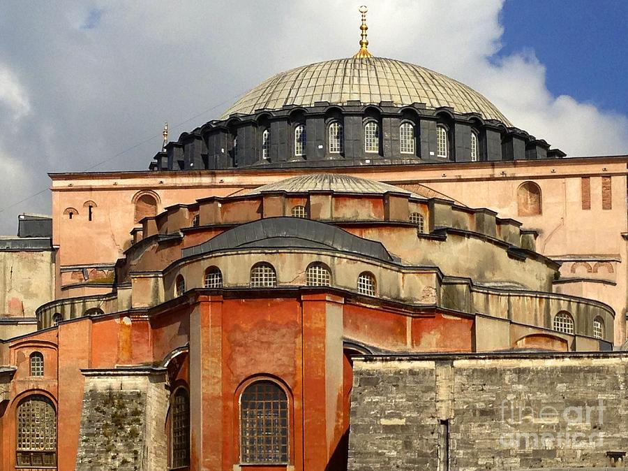 Hagia Sophia Photograph - Hagia Sophia Ayasofya Meydani Byzantine Basilica Later Imperial Mosque Istanbul Turkey by Ralph A  Ledergerber-Photography