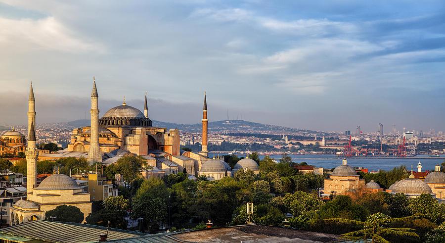 Hagia Sophia In Istanbul, Turkey Photograph by Damircudic